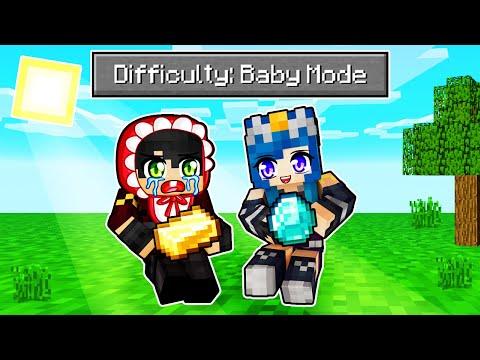 We Played Minecraft BABY MODE