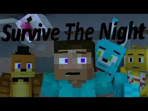 Survive The Night FULL MINECRAFT ANIMATION