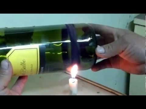 como cortar botellas de vidrio version mejorada