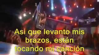 Party in usa - Miley Cyrus - con subtitulos en español live at atc 2009