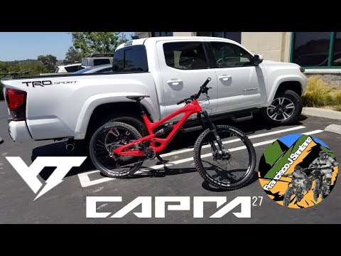 2018 YT Capra CF Pro Build and first downhill!