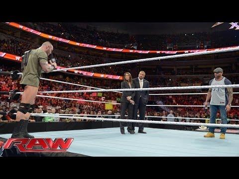 Triple H, Randy Orton and Batista look toward WrestleMania 30: Raw, March 31, 2014