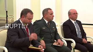 Russia: Putin and Netanyahu discuss Iran and Syria in Moscow