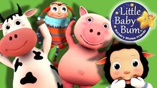 Head Shoulders Knees and Toes | Part 2 | Nursery Rhymes | by LittleBabyBum!