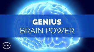 Genius Brain Power - Super Conscious Connection - Binaural Beats