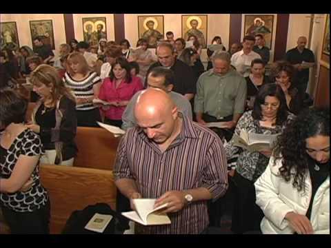 Roum Orthodox Good Friday Service in arabic