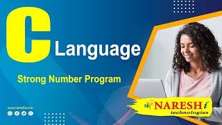 Strong Number Program in C | C Language Tutorial | Mr. Srinivas