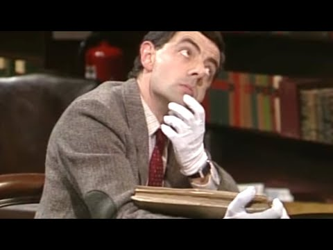 Studying with Bean Funny Clips Mr Bean Official