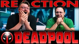 Deadpool Red Band Trailer #2 REACTION!!