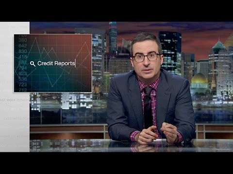 Credit Reports Last Week Tonight with John Oliver HBO