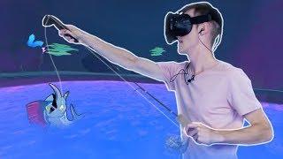 Virtual Reality Vissen - CRAZY FISHING VR