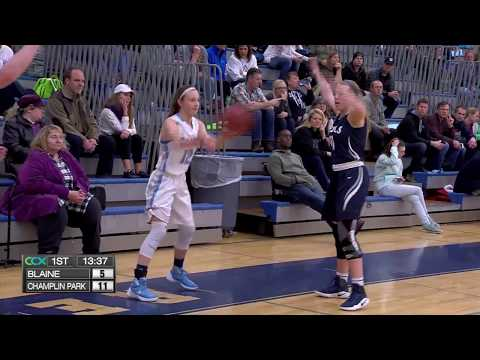 Blaine vs Champlin Park Girls High School Basketball