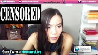 Gamer Girl Nova Patra Caught Masturbating on Stream