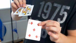 CRAZY VANISHING CARDS Magic Trick!