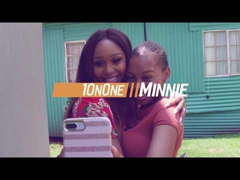 Minnie Dlamini goes #1OnOne with Larona Moagi from The River on 1Magic - DStv