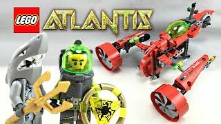 LEGO Atlantis Typhoon Turbo Sub set review! 2010 set 8060!