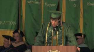 Inspirational Speech by Student with Fear of Public Speaking