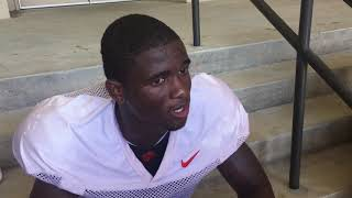 TigerNet: Trayvon Mullen after practice - 8/16/17