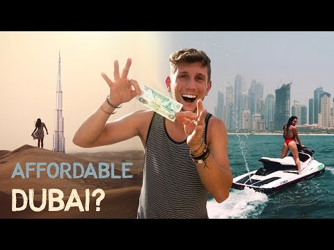 How to TRAVEL DUBAI on a BUDGET Enjoy Luxury CHEAP