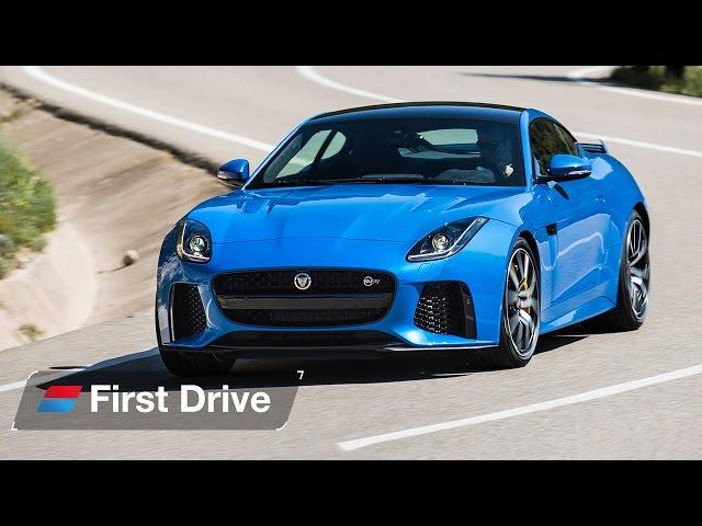 2016 Jaguar F-Type SVR first drive review: A 200mph V8 muscle car?