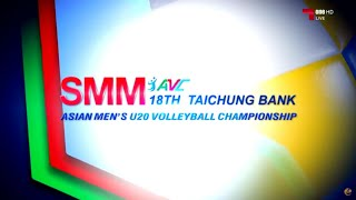 Iran vs China | 17 July 2016 | Final | 18th Asian Men's U20 Volleyball Championship