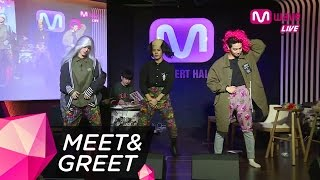 (ENG SUB) GOT7's Jackson, JB and Mark Wig Out to 'Hard Carry' [MEET&GREET]