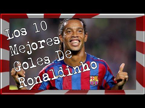 Los 10 Mejores Goles de Ronaldinho