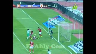 هدف باسم مرسى فى النادى الاهلى بالدورى المصرى
