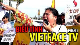 Biểu tình lần thứ 3 chống Vietface TV trên đường Bolsa - PHẦN 1