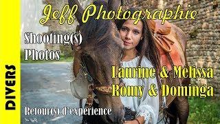 Shootings photos en duo  - Laurine & Mélissa et Romy & Dominga - Episode n°183