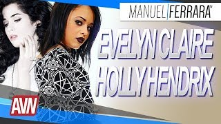 Evelyn Claire et Holly Hendrix - AVN Expo 2018