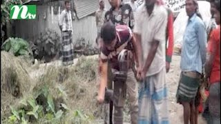 Hot stinking water is coming out of the tubewell in Kishoreganj