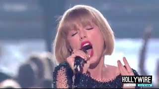 Taylor Swift 'Out Of The Woods' 2016 Grammys Performance! (VIDEO)