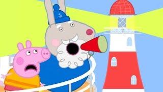 Peppa Pig en Español Episodios completos | EL FARO DEL ABUELO RABBIT | Dibujos Animados