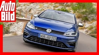 VW Golf 7 R Facelift Fahrbericht (2017) - So fährt der stärkste Serien-Golf Review/Track/Test
