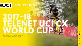 2017-18 Telenet UCI Cyclo-cross World Cup – Waterloo, USA - Men Elite