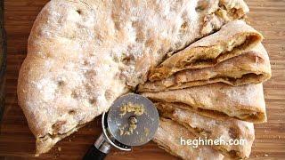Potato Stuffed Bread - Jumbo Potato Pie Recipe - Heghineh Cooking Show