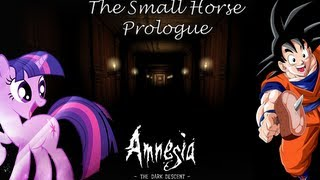 NO FUCKING SENSE- Amnesia Mod The Small Horse (Prologo) Gameplay ITA