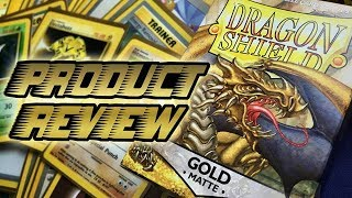 Dragon Shield Matte Gold - Product Review