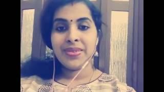 Reshma Renish singing