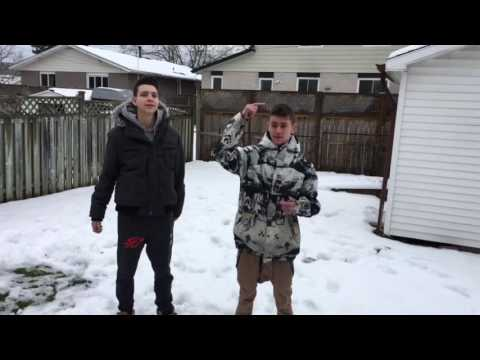 SNOW CHALLENGE GONE WRONG!!