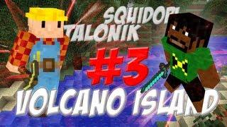 Minecraft Volcano Island (PL) part 3 - Magazyn