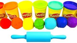 Learn Colors Play Doh Ice Cream Popsicle Molds Fun & Creative for Kids Play-Doh Surprise Toys