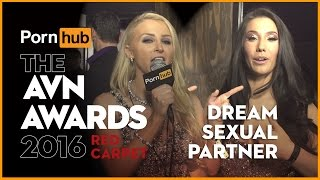 Pornhub at AVN 2016: Alix Lynx asks, who is your dream sexual partner?
