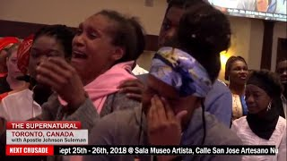 The Supernatural - TORONTO, CANADA, Day 1 Evening with Apostle Johnson Suleman