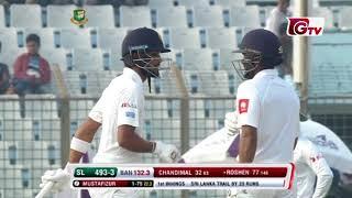 Roshen Silva's 109 Runs against Bangladesh | 1st Test | 1st Innings | Bangladesh vs Sri Lanka