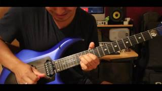Pantera - Cowboys from Hell Guitar Solo Cover Sunil Nepal (NGT)