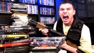 Most Bad-Ass DVD Movie Collection Video!!