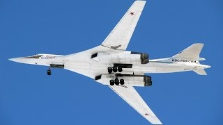 RARE VIDEO Moscow sends Su-30 & Тu-160 Aircraft over Middle East