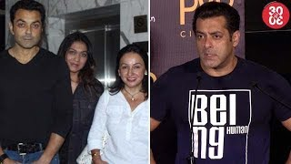 'Poster Boys' Team Hosts Screening For Bollywood | Salman Gets Involved In TZH's Direction Process